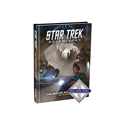 Modiphius Entertainment Star Trek Adventures Core Rulebook Role Playing Game: Toys & Games [5Bkhe0303162]