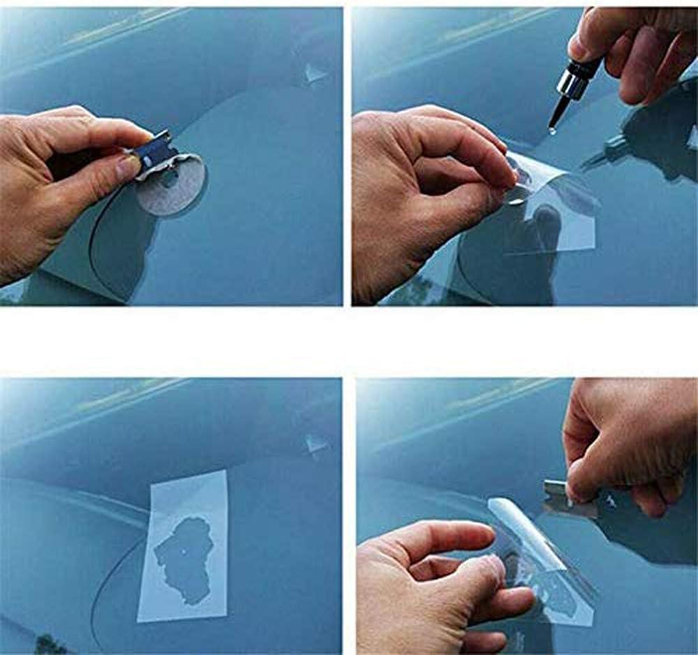 2PCS Automotive Glass Nano Repair Fluid-Car Windshield Repair Resin Cracked Glass Repair Kit,Glass Corrector Set Crack Repairing for Car