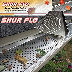 Shur Flo Aluminum Gutter Guard 5 Quot 200 Easy To Install