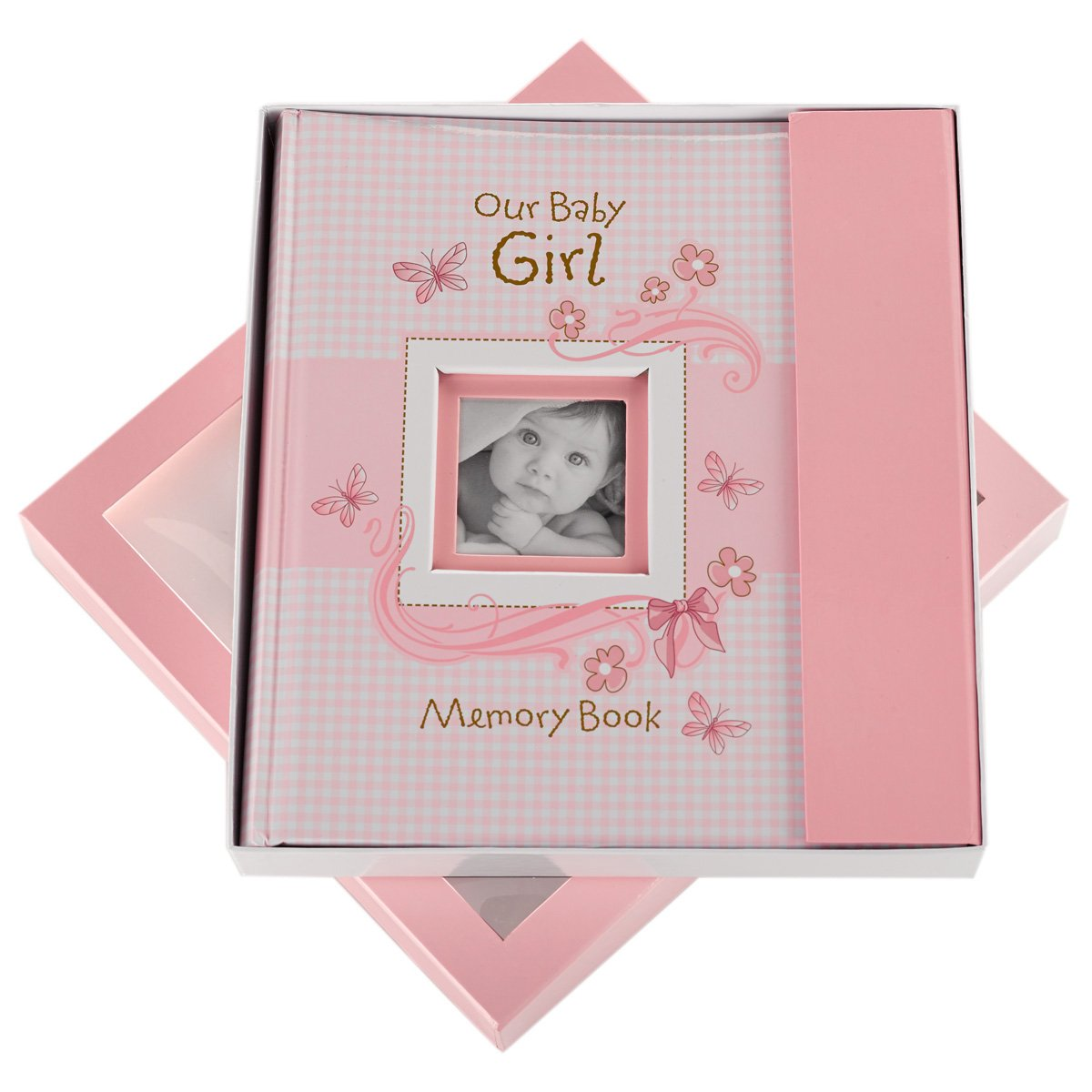 amazon com our baby girl memory book baby photo albums baby