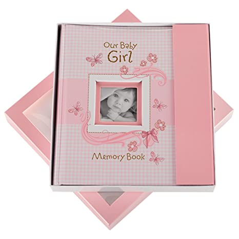 Amazon.com : Our Baby Girl Memory Book : Baby Photo Albums : Baby