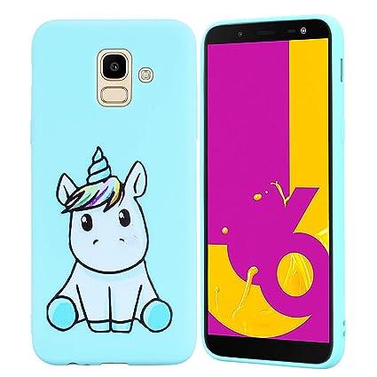 HopMore Funda Samsung Galaxy J6 2018 Silicona Motivo ...