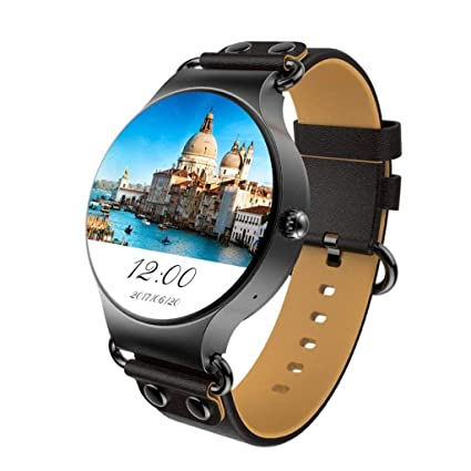 Amazon.com: Rsiosle 3G Smart Watch Support WI-FI GPS Android ...
