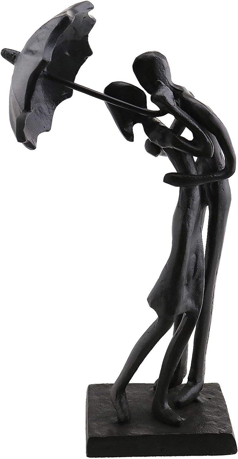 SING F LTD Hug Gifts Home Decor Dancing Couple Sculpture Love Decoration Crafts Figurines Lovers Ornaments Statue Modern 20x10.5x6.6cm