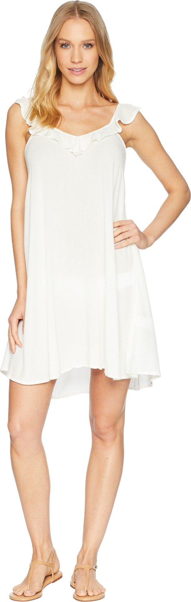 Roxy Junior's Dancing Around Coverup Dress, Marshmallow, S