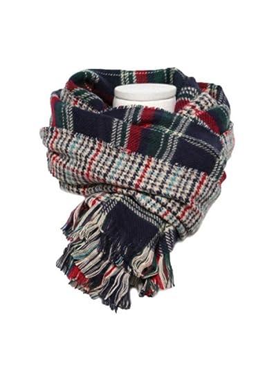 Aztec Blanket Scarfwomens Thick Knit Scarves Wraps Shawl