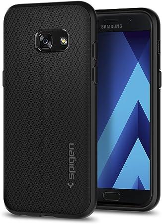 Spigen Coque Samsung A3 2017, Coque Galaxy A3 2017 [Liquid Air] Coussin d'air, Flexible, Silicone Souple/Housse Etui Coque pour Samsung Galaxy A3 2017 ...