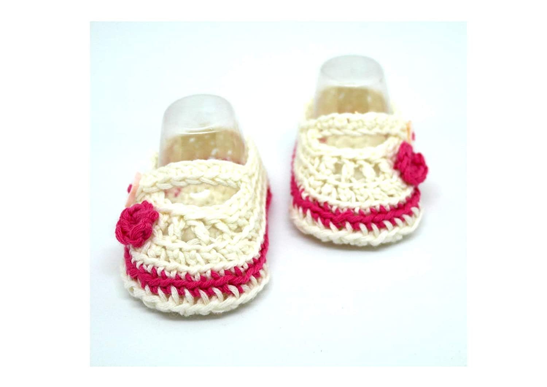 Botines para bebés, Zapatos de bebé de ganchillo, Zapatos Mary Jane, Zapatos de verano, Zapatos de niña, Zapatos de flores, Regalos para baby shower: ...