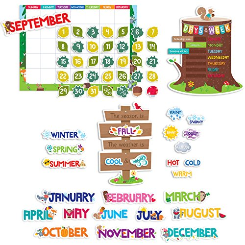 Creative Teaching Press Bulletin Board Academic Calender (8006)