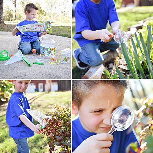 Nature Bound NB535 Bug Catcher with Habitat Bucket and 7 Piece Nature Exploration Set, Green (Pack of 14) by Nature Bound (Image #6)