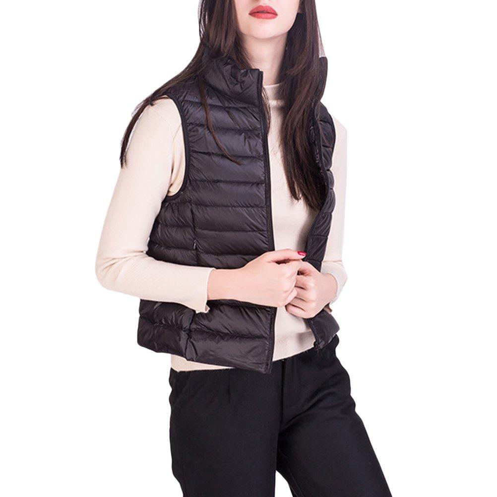Jacket Down Vest Slim Zhhlinyuan Ultralight Stand Bonne Qualité b7vf6gYyIm