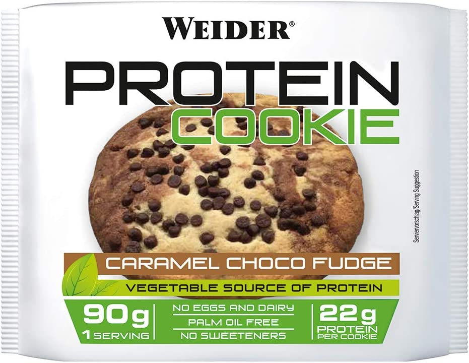 Weider Protein Cookie Caramel Choco Fudge 90 G - 500 g ...