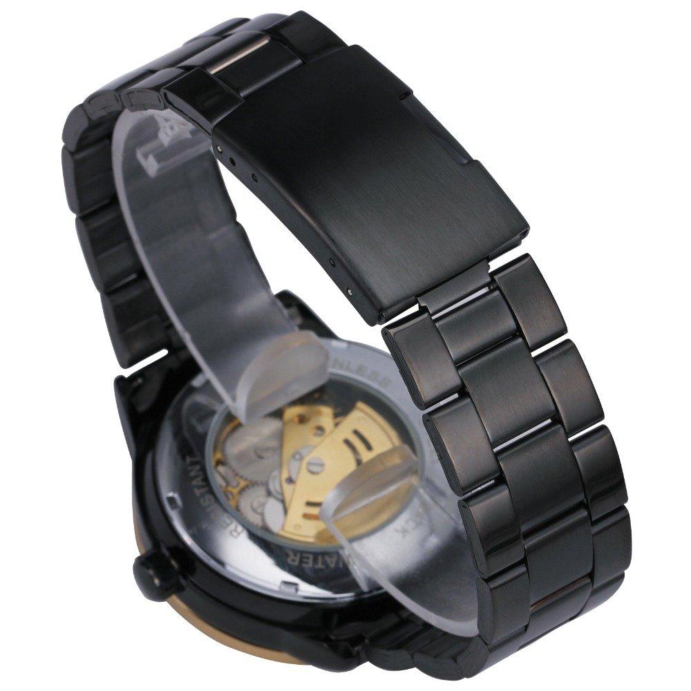 Amazon.com: Winner Luxury Sport Clock Men Automatic Watch Skeleton Military Mechanical Watch Relogio Male Montre Relojes Mens Watch: Watches