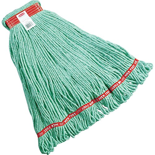 Rubbermaid Commercial Web Foot Shrinkless Mop, (Web Foot Mop Head)