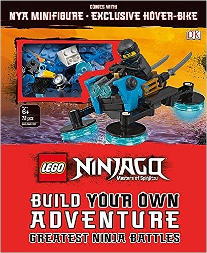 Book LEGO NINJAGO Build Your Own Adventure Greatest Ninja Battles