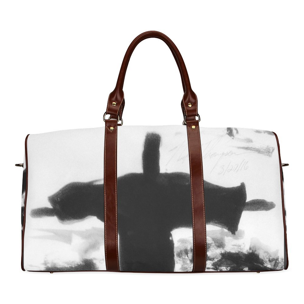 He Is Risen Custom Waterproof Travel Tote Bag Duffel Bag Crossbody Luggage handbag