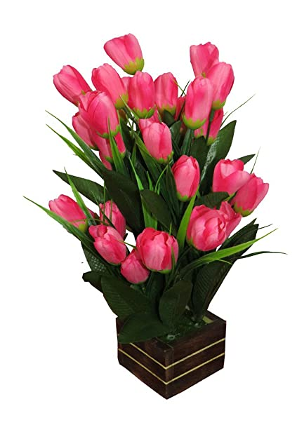 Buy Emani Corp Artificial Flower With Vase Online At Low Prices In