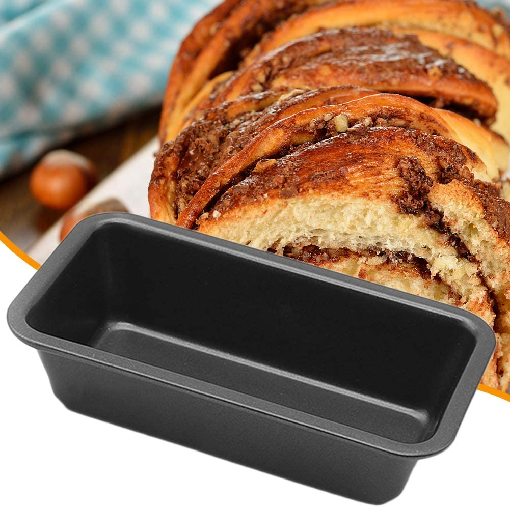 6 inch Loaf Pan Rectangle Small Toast Box Bread Tray Cake MoldCarbon Steel Non-stick Baking Tray DIY Cake Mold Baking Tools Kitchen