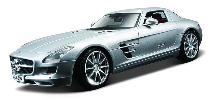 Amazon Com Maisto 1 18 Scale Mercedes Benz Sls Amg Diecast Vehicle