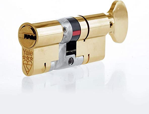 New Yale Euro Cylinder Thumb Turn 40 40 Brass Anti Snap Upvc  Patio  Wood Door