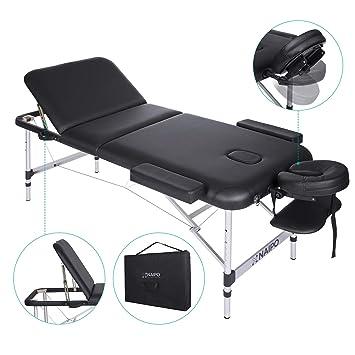 Lettino Massaggio Ad Acqua Prezzo.Naipo Tavolo Da Massaggio Letto Lettino Spa Tre Parti Ripiegabili