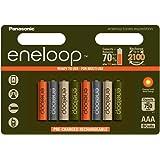 8 Pack Multi Use/Color Panasonic Eneloop Rechargeable Ni-HM AAA batteries - Eneloop tones expeditions