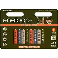 Eneloop 爱乐普  BK-3MCCE/8EE 镍金属氢化物 AA 电池–白色 8 包装