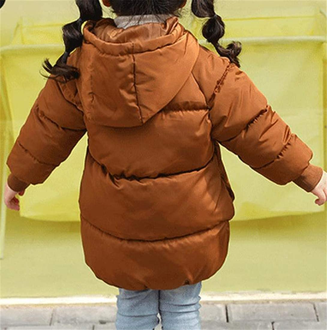 Sayhi Boys and Girls Hooded Quilted Puffer Winter Packable Parka Coat Jacket