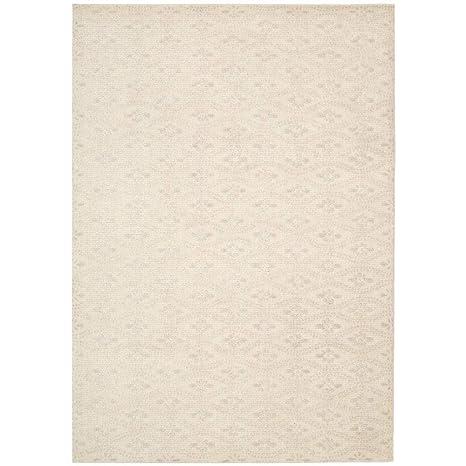 Amazon Com Nourison Calvin Klein Nara Frost White Area Rug By 3 9