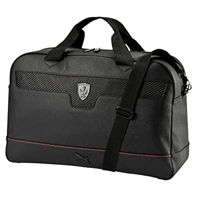 385fe5908eb4 Image Unavailable. Image not available for. Color  Puma Ferrari Black  Weekender Bag