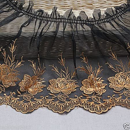 Wright/'s Black Lace Trim