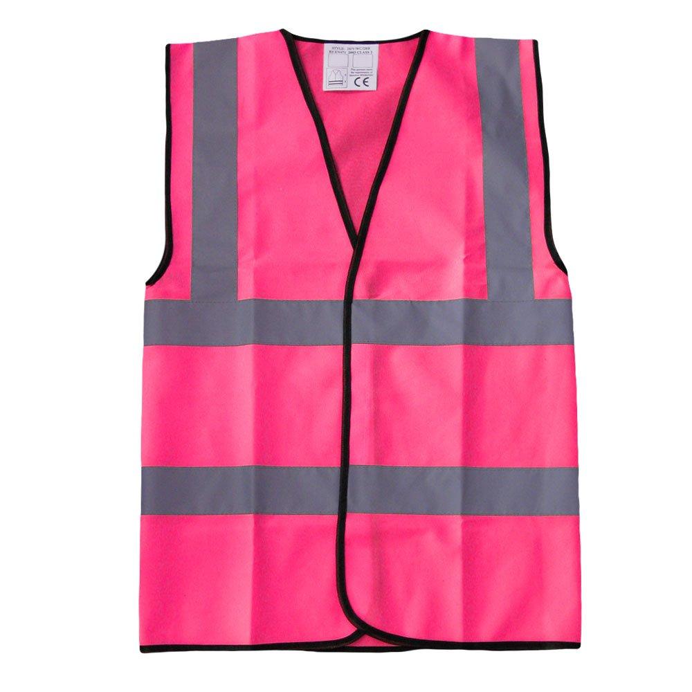 Brook Hi Vis Rose Haute visibilité Gilet de sécurité Haute visibilité réfléchissant Gilet Workwear