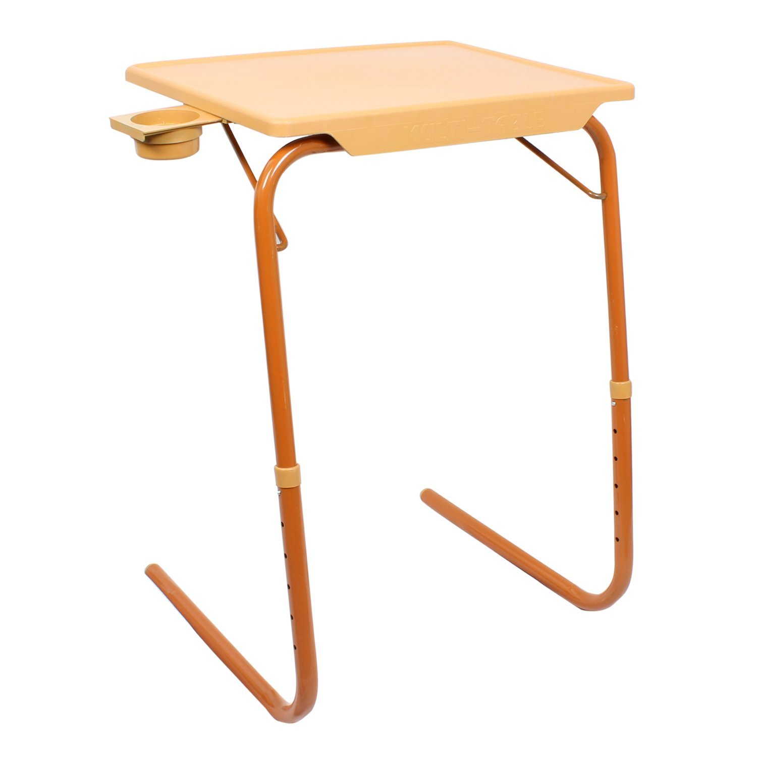 MULTI   TABLE Multi Function Detachable And Foldable Table Mate Sandal Wood  Color