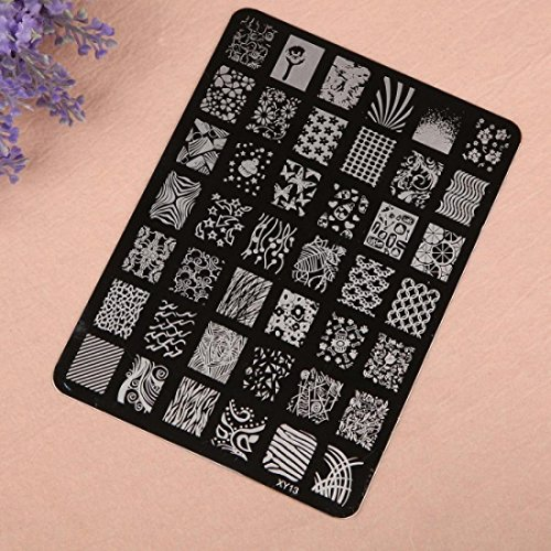 Tools Template Manicure Nail Art Stamping XY Series Pattern XY13