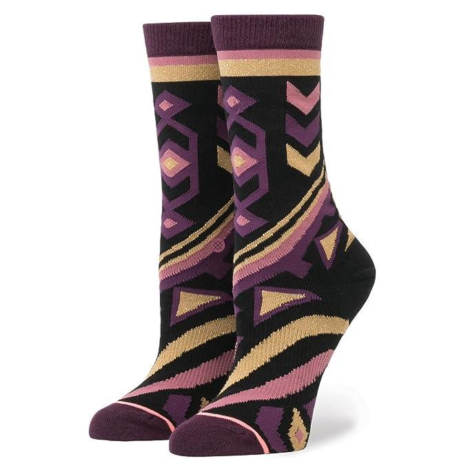Stance Womens Nefertiti The Tomboy Socks Small Black