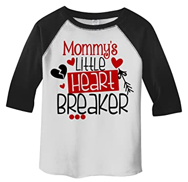 Amazon Com Shirts By Sarah Toddler Mommy S Little Heart Breaker