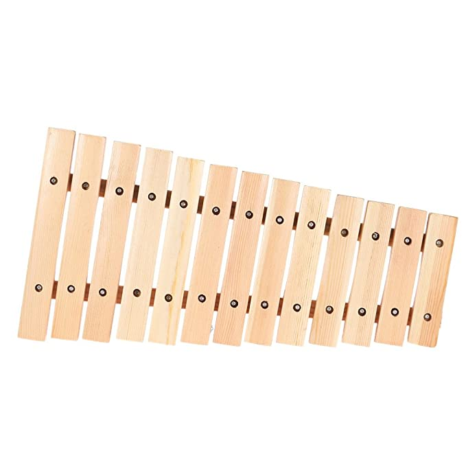 ammoon Musical Xilófono del Piano Instrumento de Madera para ...