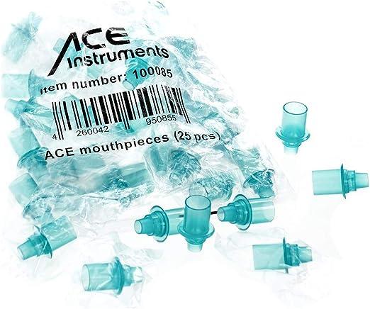 Ace Mundstück Vorratspackung Mit 25 Stück Hygienesichere Mundstücke Für Ace Alkoholtester Auto