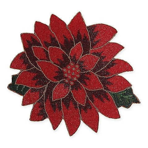 poinsettia-beaded-placemat-100-polyester-4-l-x-4-w