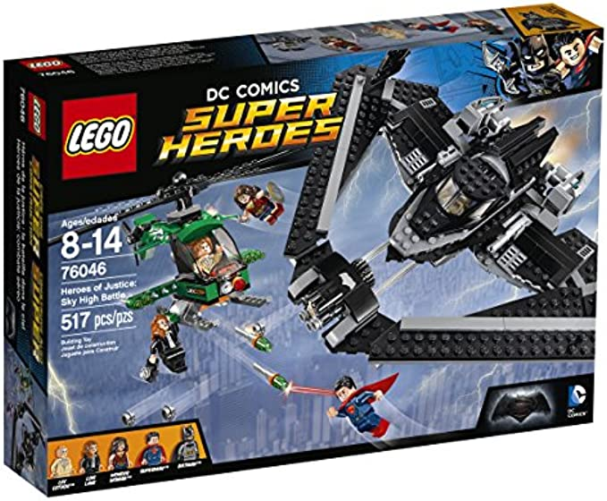 LEGO Superheroes 76046 גיבורי הצדק קרב שמיים