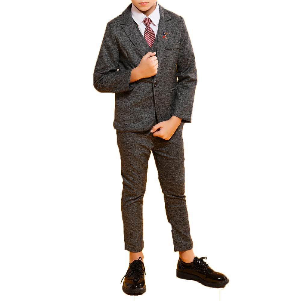 Traje Delgado de niño, Moda Estilo británico Vestido de Seis ...