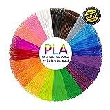 pics of pen - PLA 3D Pen Filament Refills(20 Colors, 16.4 Feet Each) - PHANED 3D Printing Pen Filament 1.75mm Total 328 Feet Lengths for MYNT3D, Scribbler V3, Soyan, 7TECH, LIX, Manve, Sunlu 3D Pen