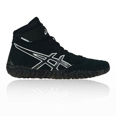 40cec46282f6e9 ASICS Aggressor 2 Wrestling Shoes Black  Amazon.co.uk  Shoes   Bags