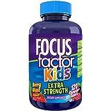 Focus Factor Kids Extra Strength Complete Vitamins: Multivitamin & Neuro Nutrients (Brain Function), Vitamin B12, C, D3…