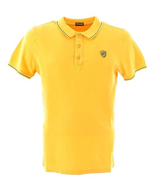 Blauer - Polo - para hombre Amarillo amarillo XXL: Amazon.es: Ropa ...
