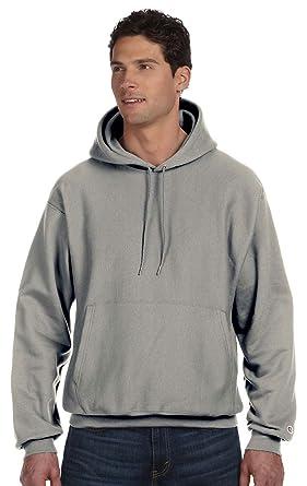 338b957c8 Champion Reverse Weave 12 oz. Pullover Hood, Small, Oxford Gray
