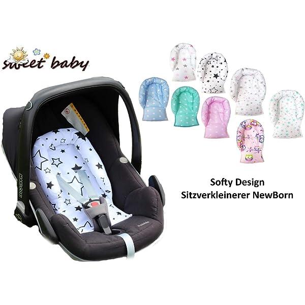 Sweet Baby ** SOFTY NEGRO ** Reductor para silla de bebé ...