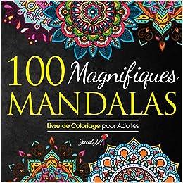 Book's Cover of 100 Magnifiques Mandalas: Livre de Coloriage pour Adultes, Super Loisir Antistress pour se détendre avec de beaux Mandalas à Colorier Adultes (Français) Broché – 3 juin 2020