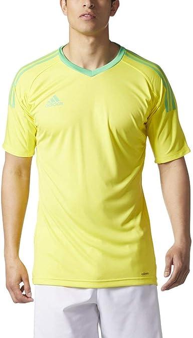 Amazon.com: Adidas Revigo 17 Mens Short Sleeve Goalkeeper Soccer ...