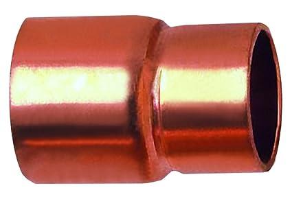 Boutt 3119643 - Manguito de reduccin hembra para soldar (cobre, dimetro de tubo: